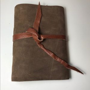 Handmade Leather Bound Journal/Notebook